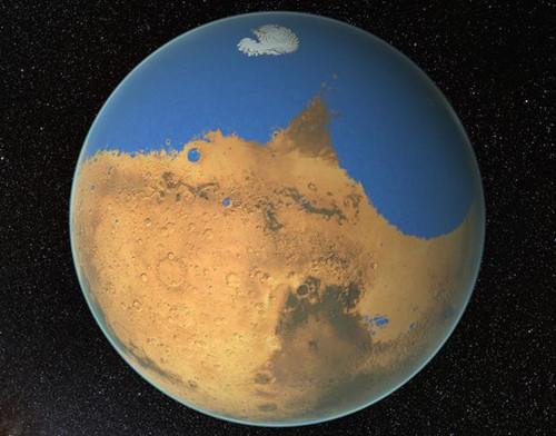 科学家:火星表面曾非常湿润 含水量超过北冰